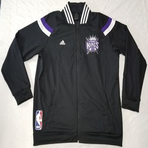 Sacramento Kings warm-up jacket men sz XL Adidas